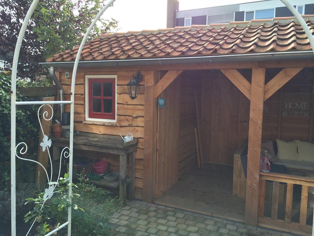 veranda met schuur in Hasselt